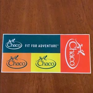 Chaco Stickers